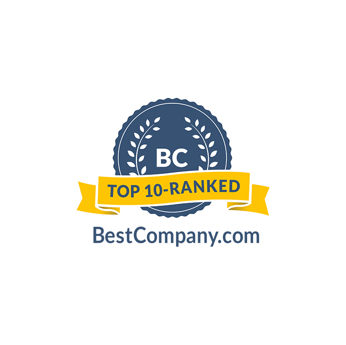 BC Badge for Top 10 Company