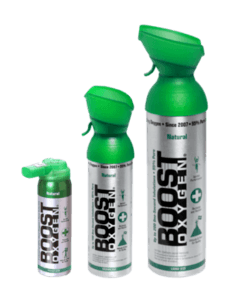 Boost Oxygen canisters
