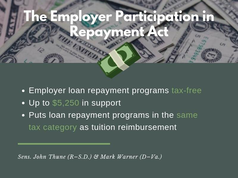 Summary of Employer Participation in Repayment Act