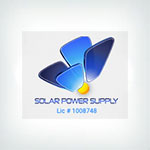Solar Power Supply Logo