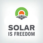 Solar is Freedom Logo