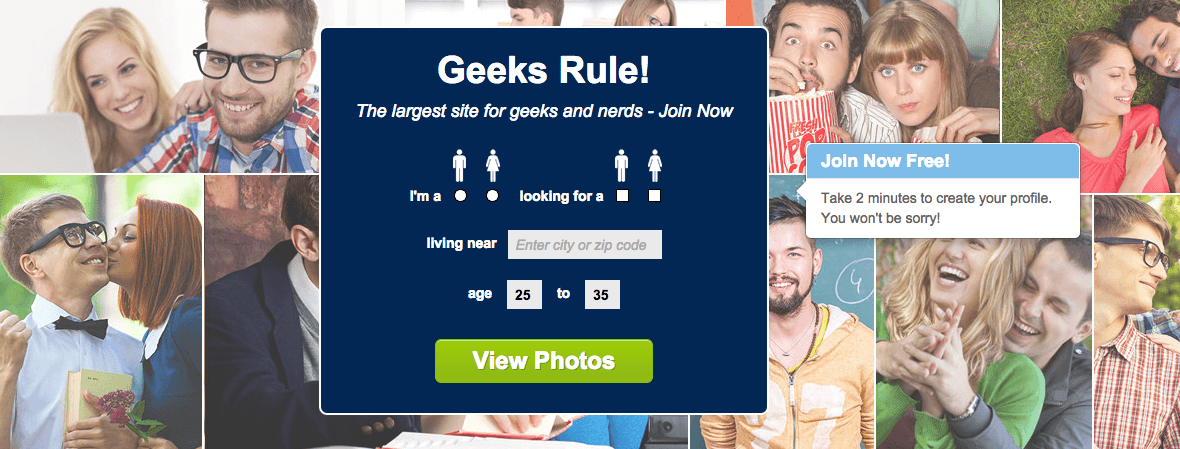 Online dating for nerds