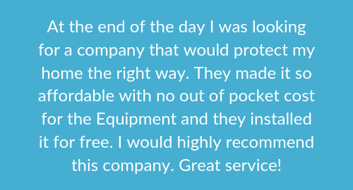 Customer review of AMP Security on Best Home Security Companys