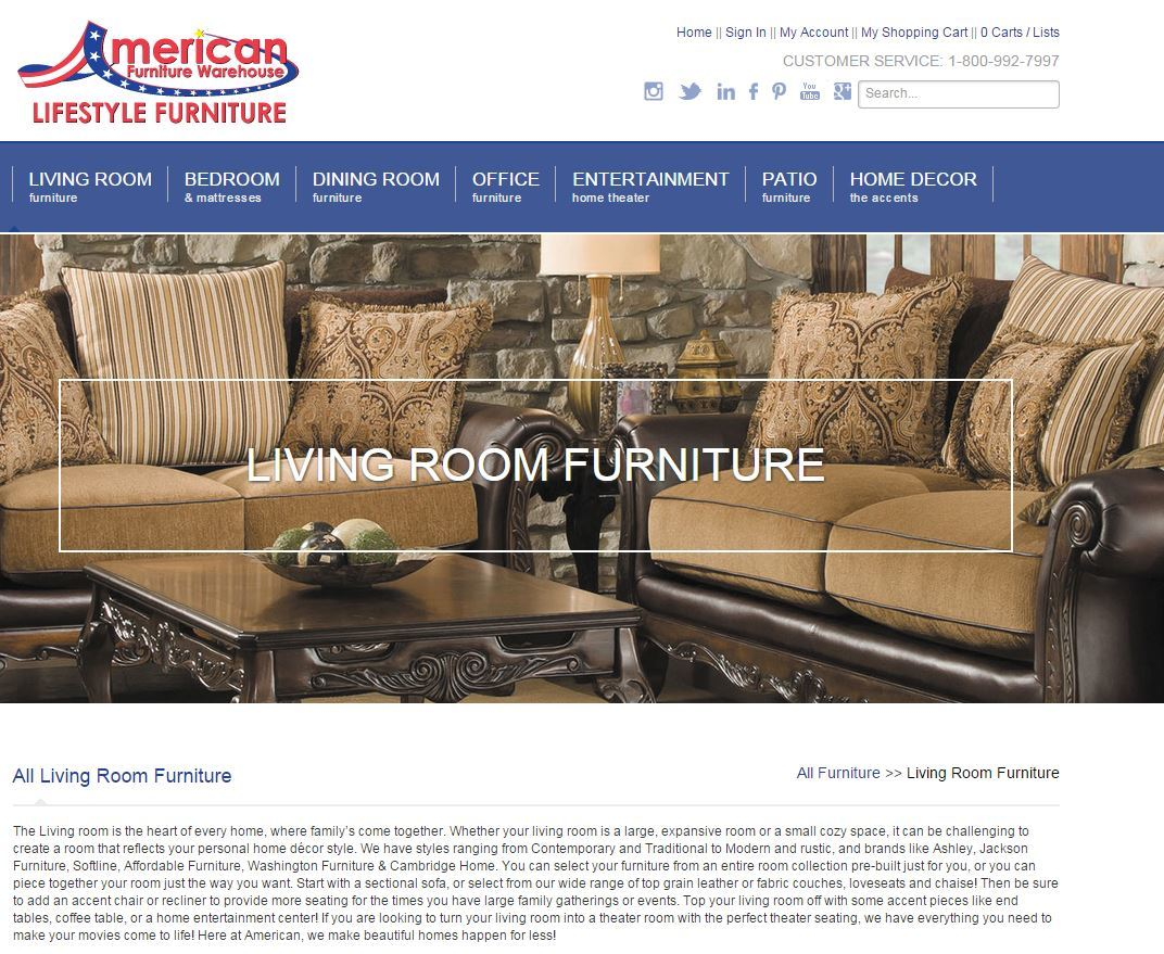 American furniture warehouse reviews real customer reviews for Best furniture company