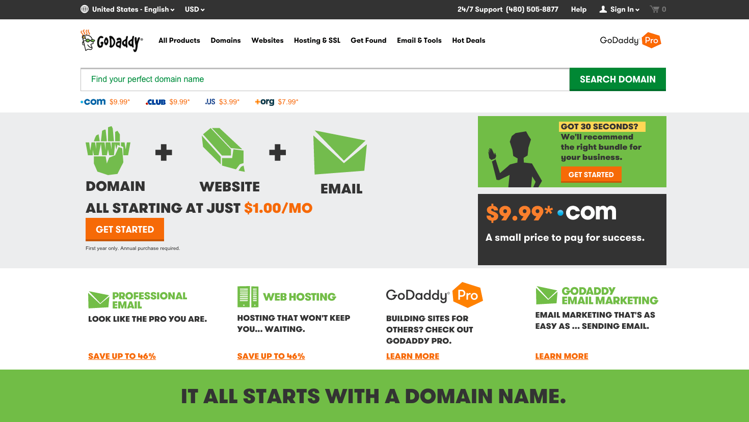 Godaddy website builder reviews tbc for Godaddy ecommerce templates